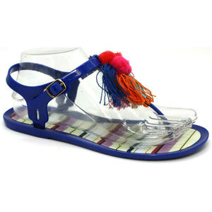 Kate Spade Womens Yellowstone Sandals Blue Size 7